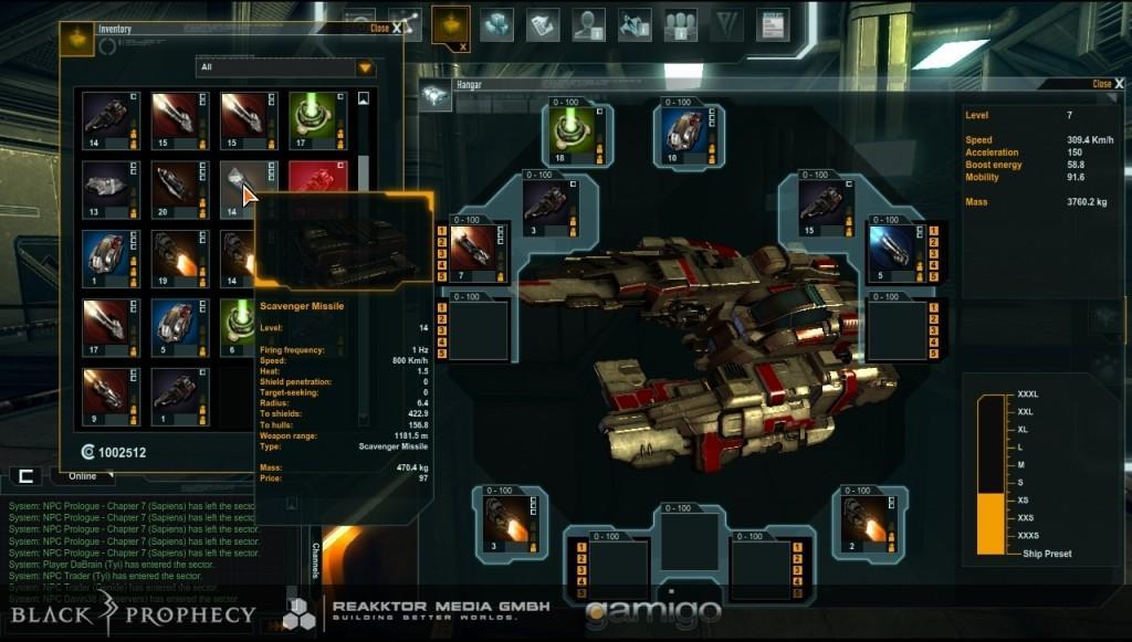 Продемонстрирован процесс экипировки кораблей