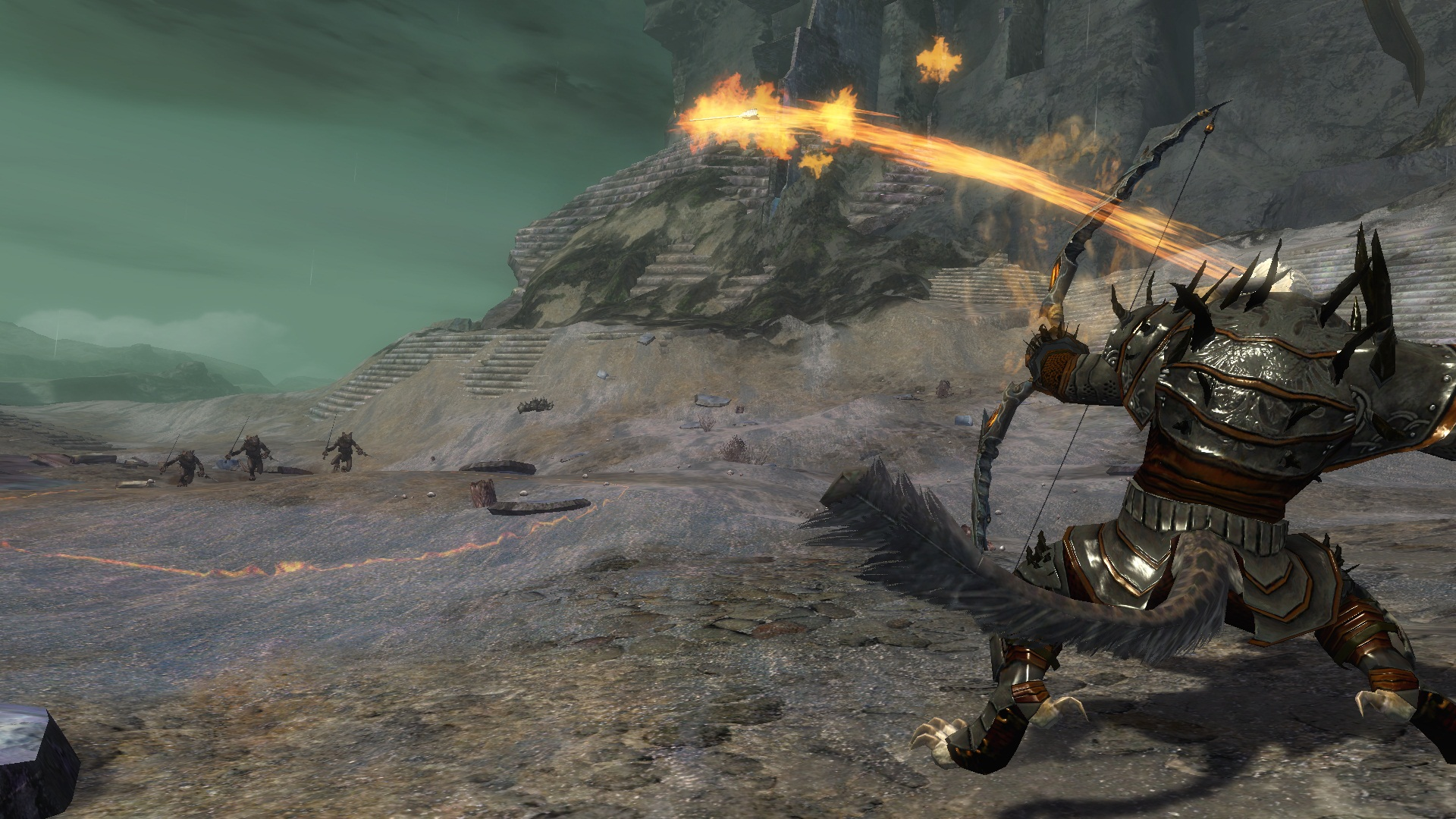 Guild Wars 2 Движок игры не будет просчитывать столкновения между персонажами
