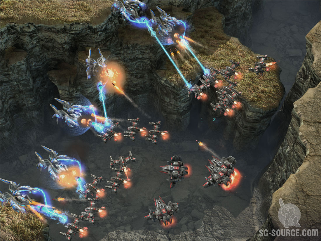StarCraft II: Terrans — Wings of Liberty Wraith: Первый взгляд