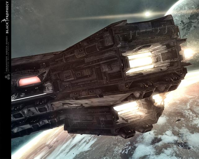 Детализация кораблей и космических станций выполнена на высоком уровне
