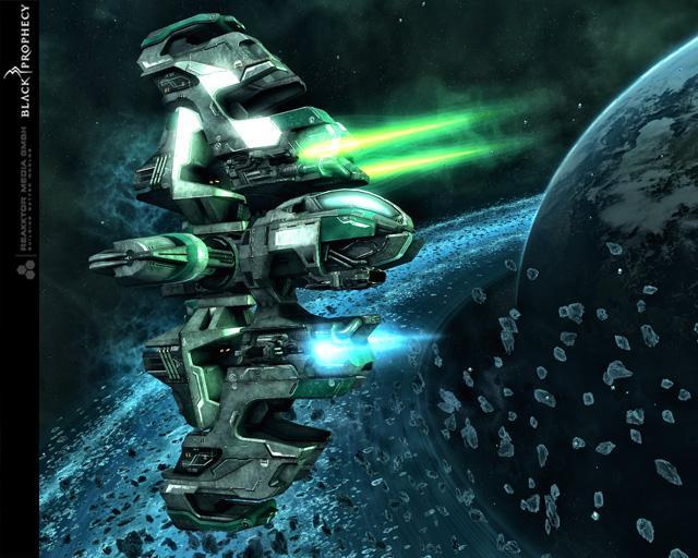Дневник разработчиков #5 — Дизайн кораблей и космических станций фракции Genide