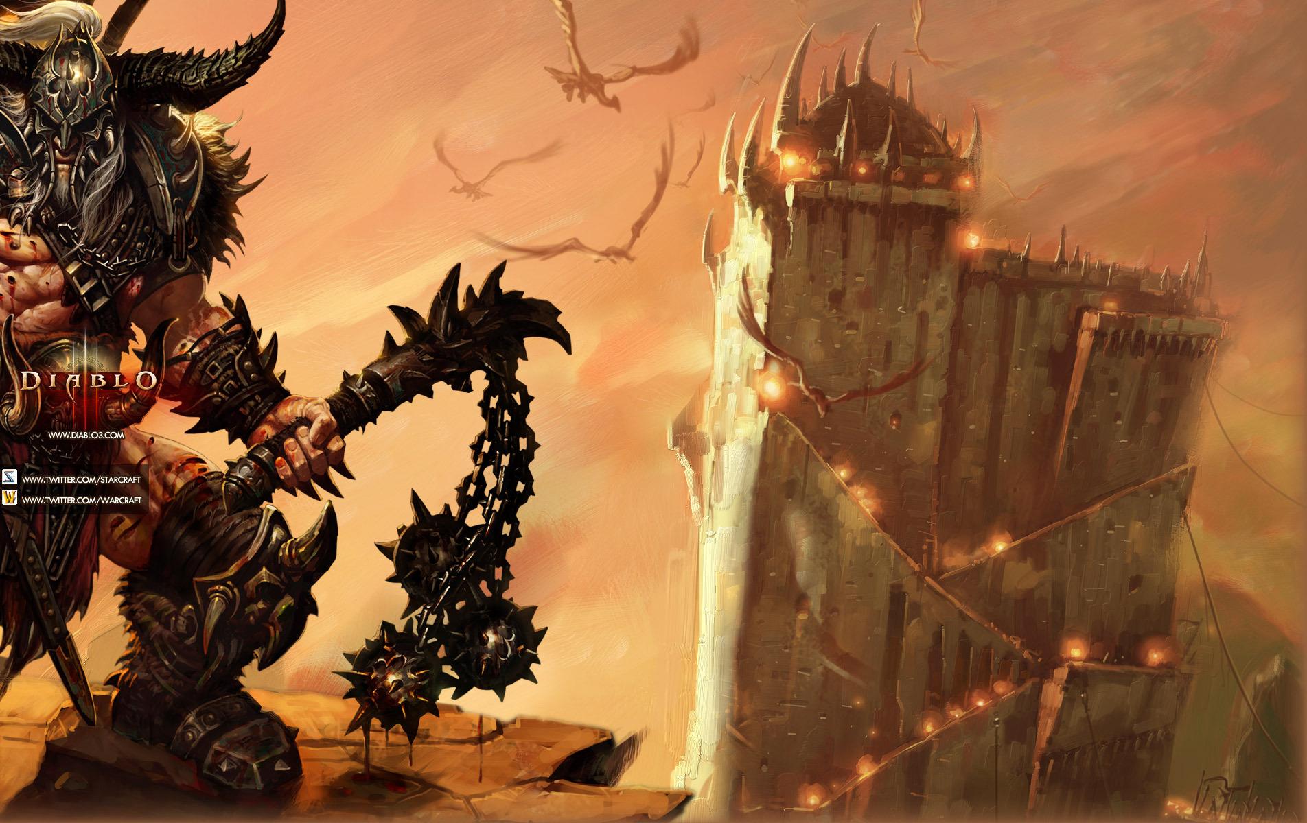 В Diablo 3 появится система путевых точек